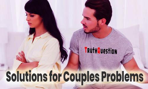 Solve Couple Problems