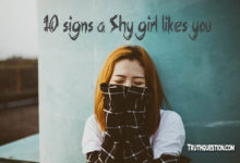 Photo of 10 signs a Shy girl likes you, how she acts, discover her