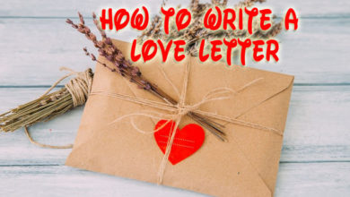 Photo of How to write a love letter