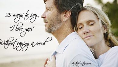 """Photo of 25 ways to say """"I love you"""" without saying a word"""