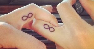 infinity couple tattoos