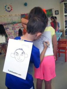 kids drawing hobbies