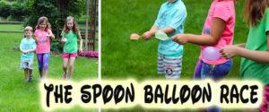 spoon waterballon game