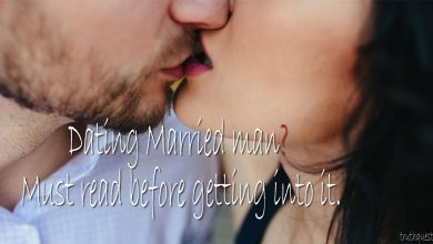 things to know before dating a married man