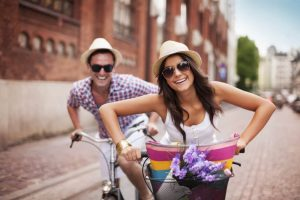 good humor is part of life as couple