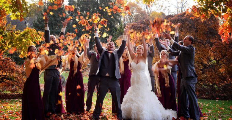 ideas for wedding in autumn fall season