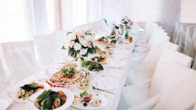 organize a wedding banquet