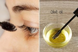 olive oil for eyelashes growth
