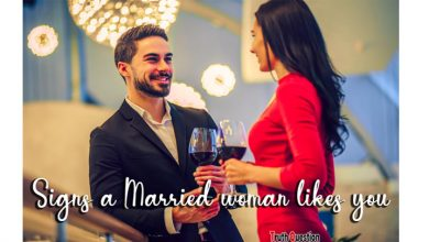 signs a married woman likes you