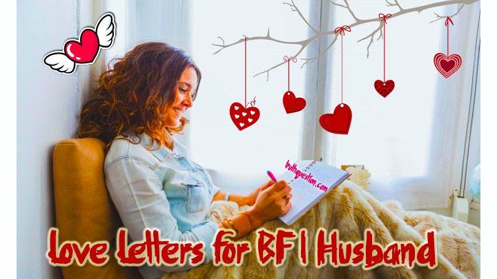 love letters to my boyfriend