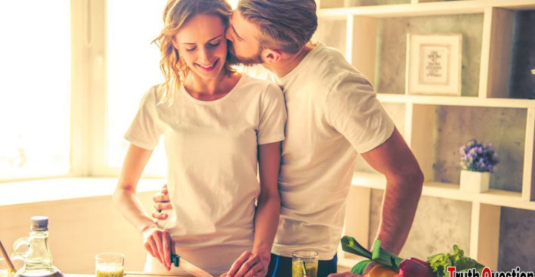 signs indicate a happy couple